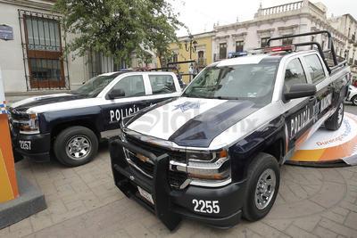 Adquirieron tres patrullas nuevas para la corporación.