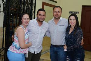 07042017 EVENTO CULTURAL.  Sandra, Víctor, Luis y Marisol.