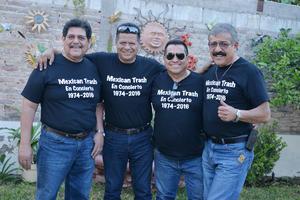 07042017 REUNIóN DE EX ALUMNOS.  Jackson, Chito, José Luis y Rolando.