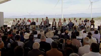 Finalmente, el presidente Enrique Peña Nieto dedicó unas palabras a los presentes al evento.