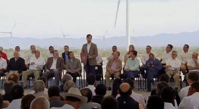Tomó la palabra luego Gabriel Alonso Imaz, Director Ejecutivo de Energías de Portugal Renovables para Norteamérica.