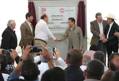 Fue inaugurado un Parque Eólico en Coahuila.