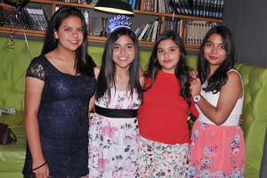 08042017 Adriana, Lucero, Mafer y Andrea.