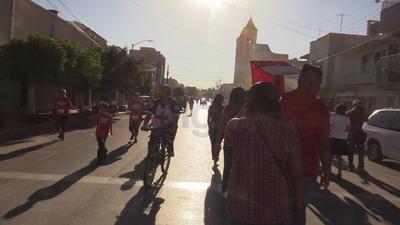 Desde hace cinco años la procesión partía de la Plaza Mayor rumbo a la Catedral del Carmen; hoy fue no fue posible.