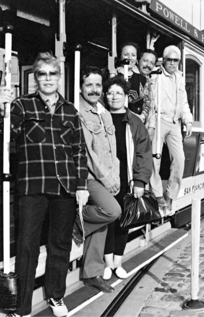 09042017 De vacaciones en San Francisco, California: Daniel, Lita, Juan, Viky (f) y Chuy Sabina, hace décadas.