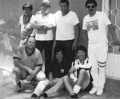 09042017 Epifanio Moctezuma, Agustín Martínez (f), M. Antonio Ríos Sergio Torres, Sergio Iturriria, Quiroz y Miguel Lira (f).