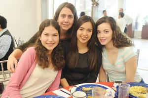 09042017 Nadia Romero, Janeth Ibarra, Valeria Isais y Sonia Alonso.