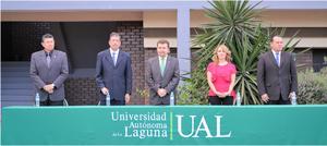 09042017 Gerardo Martín Sarabia, Manuel Morales Salazar, Omar Lozano Cantú, Verónica Manjarrez y Fernando Montenegro.