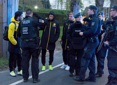 La explosión se registró a las 19:00 horas de Dortmund.