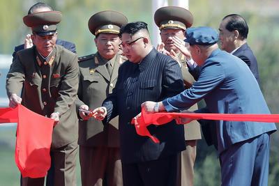 El líder norcoreano no ofreció discursos.