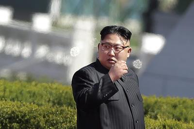 La ceremonia fue presidida por el líder Kim Jong-Un.