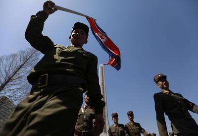 El evento fue parte de las celebraciones por los 105 años del nacimiento del fundador de la nación, Kim Il Sung.