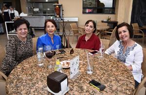 14042017 Dulce María, Rocío, Licha y Mary Cruz.