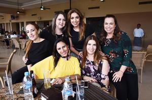 14042017 Lily, Monsi, Tere, Gris, Marisol y Claudia.