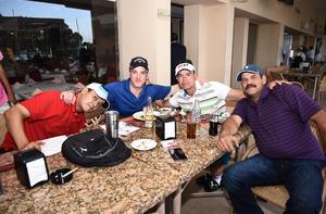 14042017 Emilio, Vicente, Samuel y Emilio.