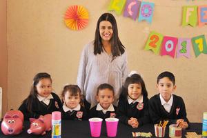 14042017 Isabel, Daniela, Sofía, Mateo, Sofía y Héctor.