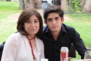 Claudia y Óscar