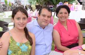 Lulú, Francisco y Adriana
