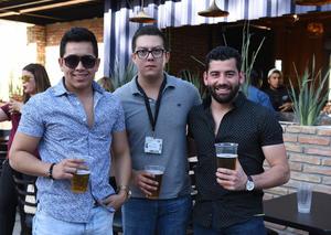 Antonio, Pedro y Xavier