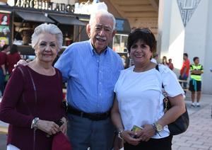 Soledad, Ricardo y Elsa