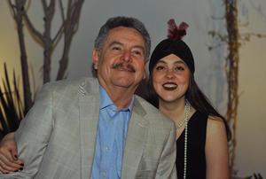Jorge con su hija, Bárbara