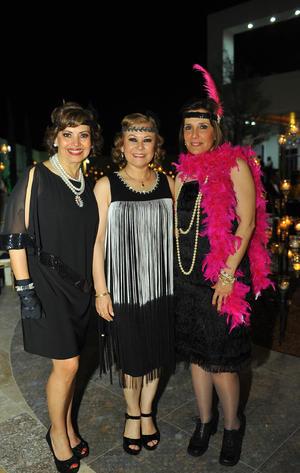 Nury, Laura y Gaby