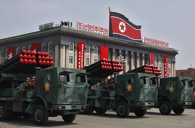 Corea del Norte le enseñó al mundo su poder militar.