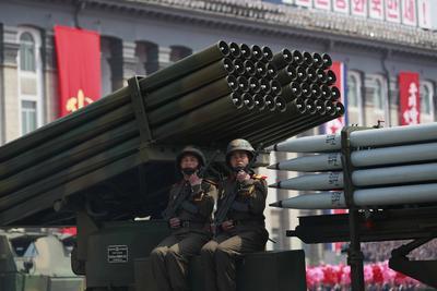 """""""Estamos bien preparados para ganar la guerra"""", dijo con entusiasmo."""