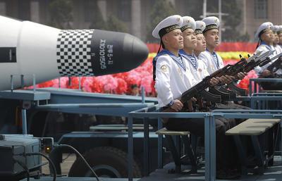 Este podría ser un nuevo misil balístico intercontinental (ICBM) de combustible sólido.