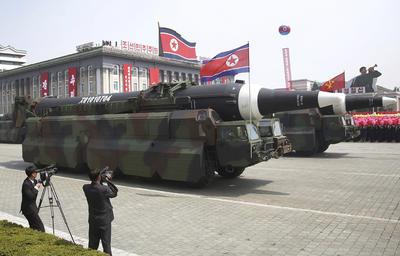 Corea del Norte lanzó el mensaje a Estados Unidos de que el país está preparado para la guerra en caso de agresión.