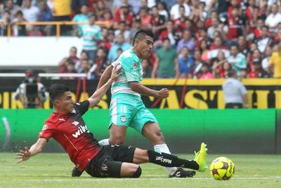 No mantener la ventaja en el marcador y terminar igualados en los últimos minutos del encuentro, en lo que fue su noveno empate de la campaña.