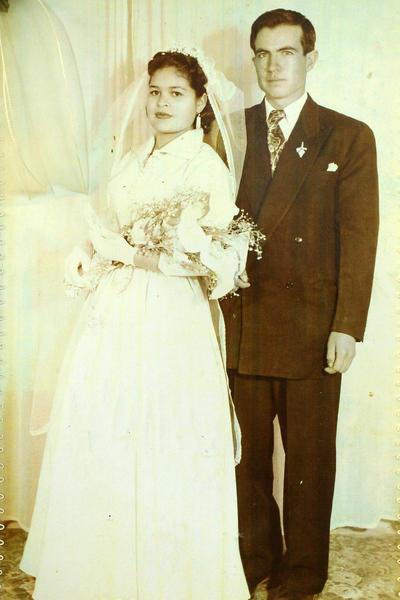 16042017 Josefina Martínez Pacheco y Longino Guerra González cumplen 62 años de matrimonio.