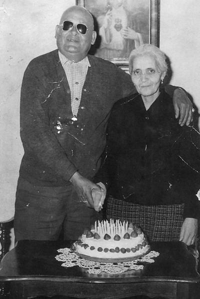 16042017 50 aniversario de bodas: Sr. Tranquilino Mtz. Mesta (f) y Sra. María Torres de Mtz. (f), el 11 de febrero de 1970, en Gómez Palacio, Dgo.