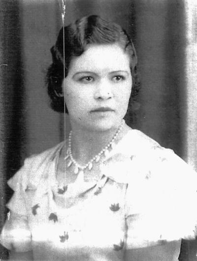 16042017 Manuela Salas Castañeda, en 1936.
