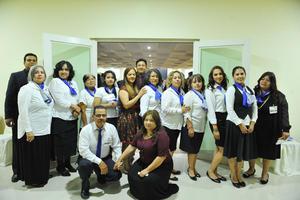 16042017 FESTEJAN 27 ANIVERSARIO.  Miembros de la Iglesia Dunamis.