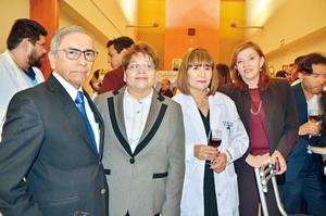 16042017 EN PRESENTACIóN.  Manuel Olhagaray, Mayela Ramos, María Luisa de la Rosa y Elisa Cobos.