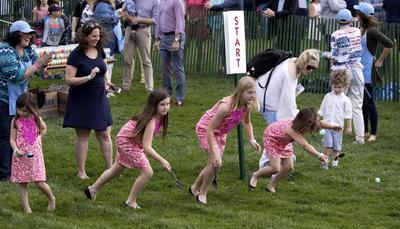 "Grandes momentos se vivieron en la tradicional ""Easter Egg Roll""."
