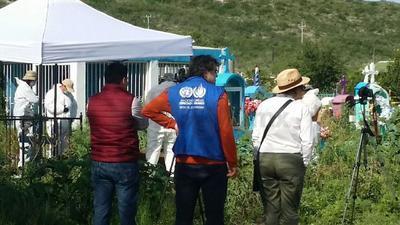 Los grupos solicitaron la presencia de personal de la Oficina del Alto Comisionado de las Naciones Unidas en México; la Fiscalía de Personas Desaparecidas de la PGR, la Dirección de Atención a Víctimas, la Comisión Ejecutiva de Atención a Víctimas de Coahuila, la CNDH y peritos independientes.