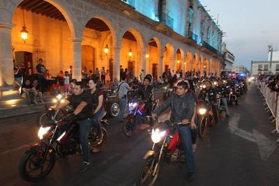 Los biker visitantes disfrutaron al máximo la hospitalidad de Durango.