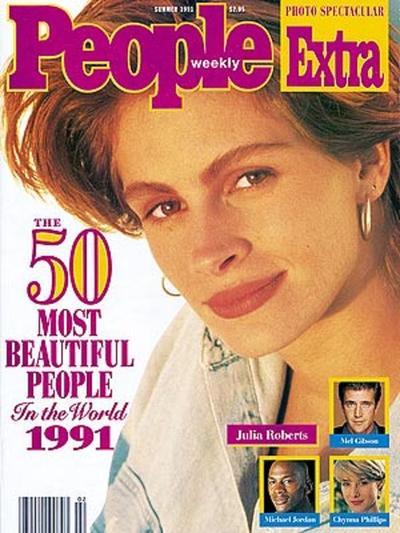 Portada de revista People en 1991.