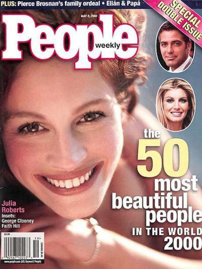 Portada de revista People en 2000.