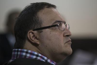 """""""En este momento no puedo allanarme sino hasta que llegue la solicitud formal de extradición y sea analizada por mis abogados. Esto no quiere decir que no lo vaya a hacer, sino hasta que llegue y sea evaluada por mi defensor"""", expresó Duarte."""