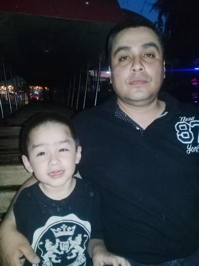 20042017 Francisco con su hijo, Paquito.