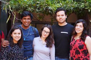 22042017 Ana Cecilia, Víctor, Alan, Eloísa y Marijose.