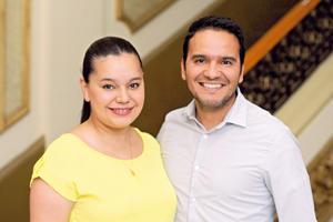 22042017 EN EL TIM.  Alejandra y Jorge.