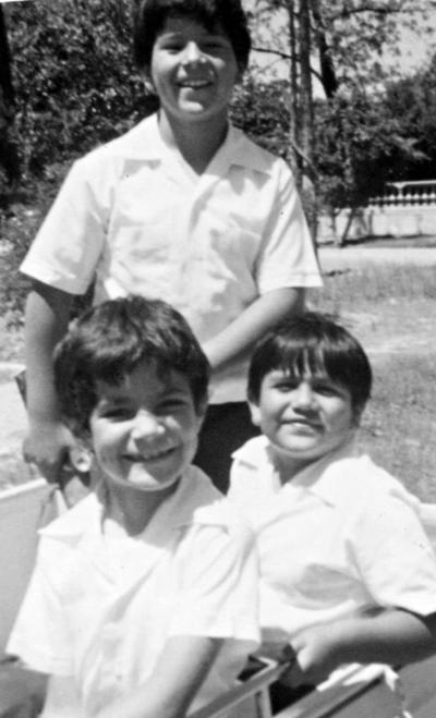 23042017 Adolfo Rodríguez, Ramón Jaquez y Simón Ramírez, en 1985.