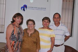 23042017 Nora Rodríguez, Estela de Martínez, Adriana de Badallo y Gil Badallo.