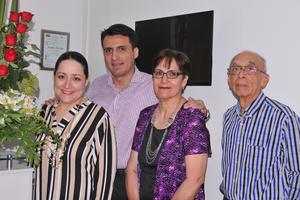 23042017 Alma Hernández, Miguel Hernández, Alma Galindo y Miguel Hernández.