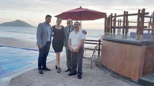 23042017 Lic. José Luis Mendoza Aroche, Lic. Carmen Alicia Lizárraga Peraza, Dr. Francisco López Gutiérrez y Dr. Alejandro Hernández Cárdenas Rodríguez.