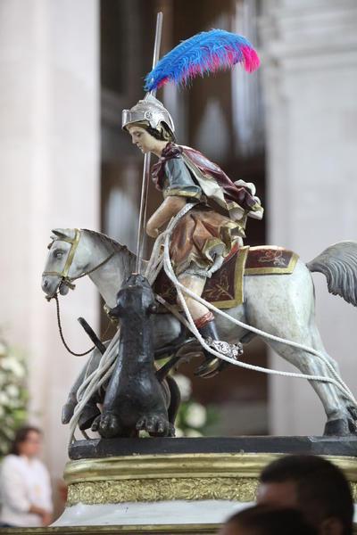 En Europa a San Jorge se le aprecia como una figura de superación y contra la tiranía.